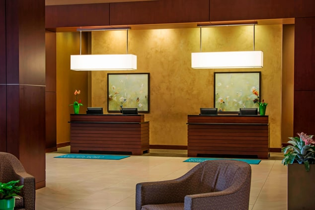 Welcome Desk & Check-In