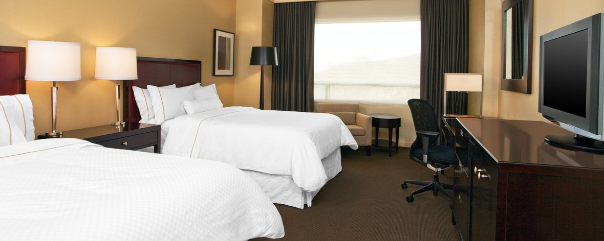 The Westin Baltimore Washington Airport BWI Queen/Queen Guest Room