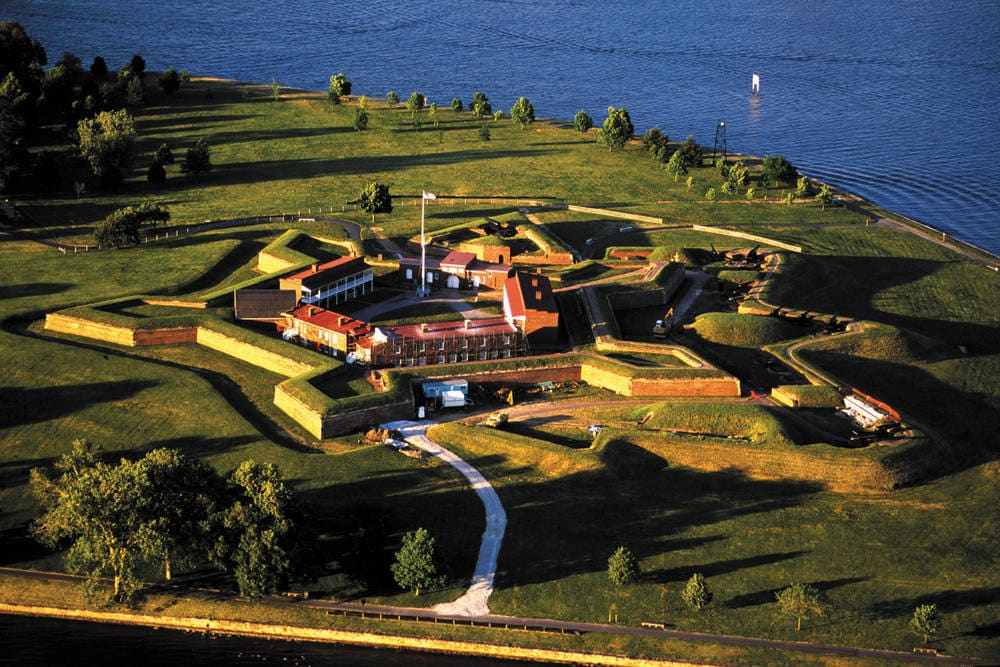 Fort McHenry - Courtyard Baltimore BWI Airport