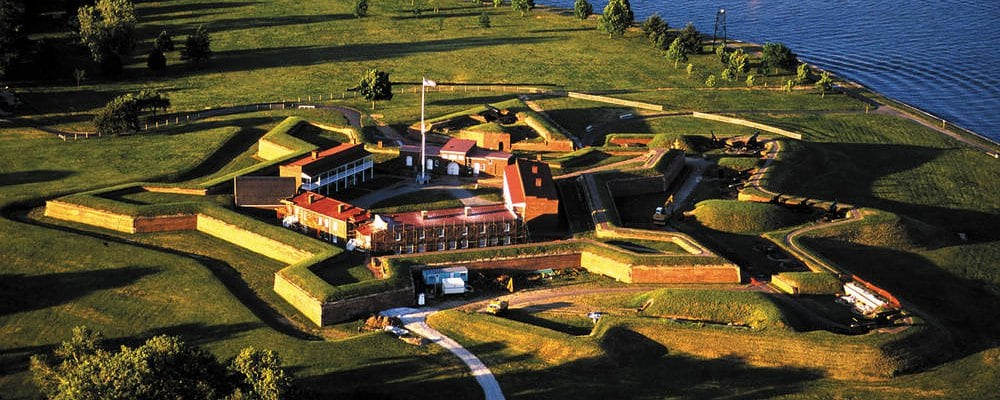 Fort McHenry – Courtyard Baltimore BWI Airport