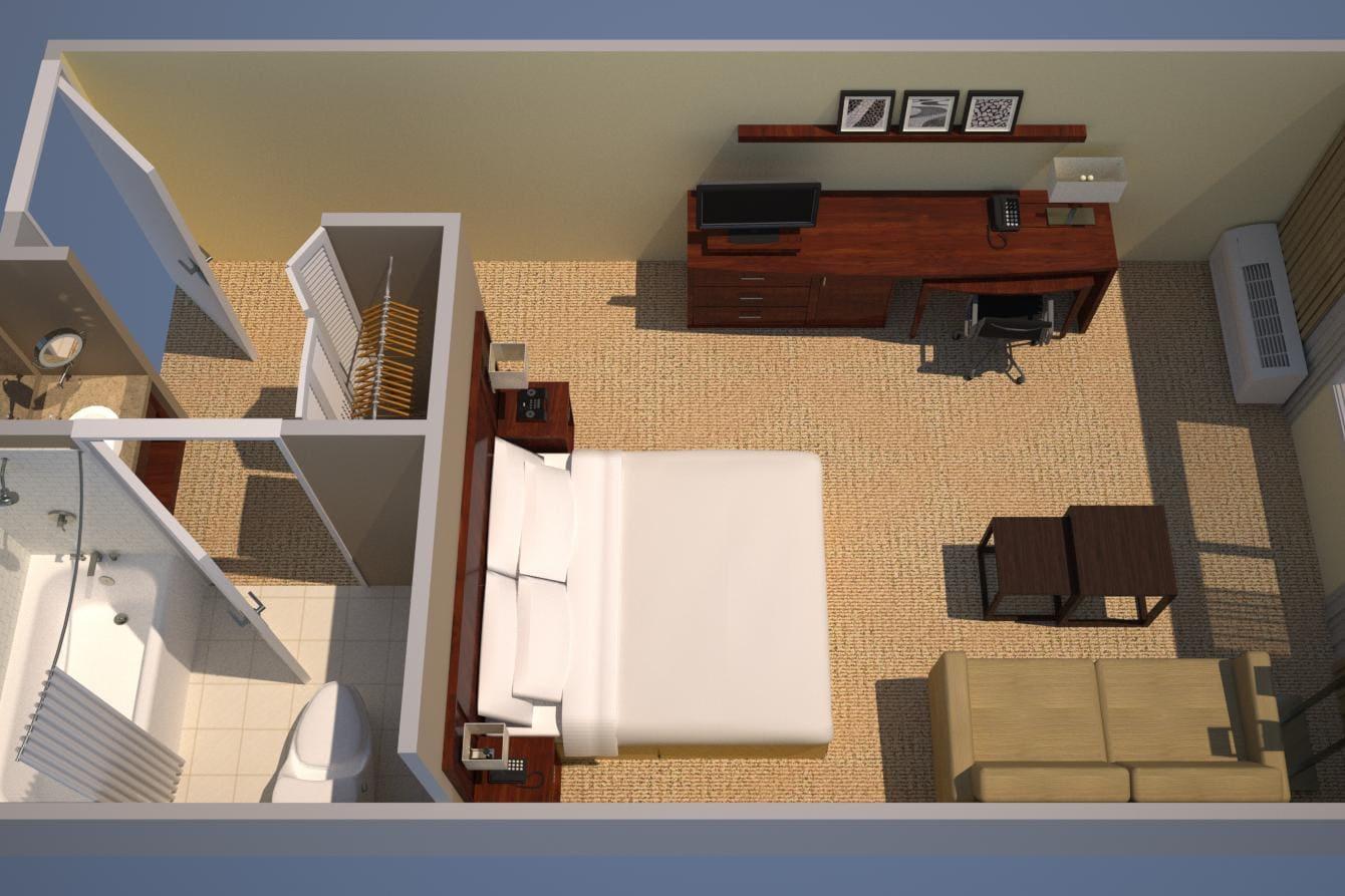 Habitación - Una cama King
