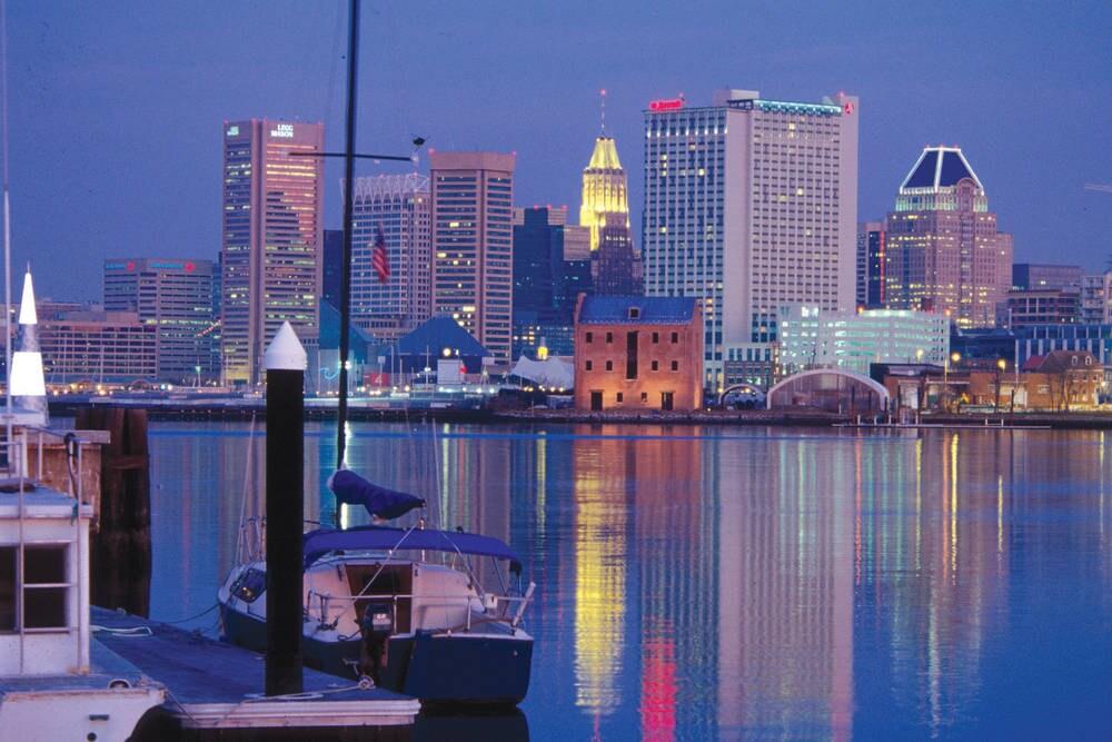 Baltimore Downtown Inner Harbor