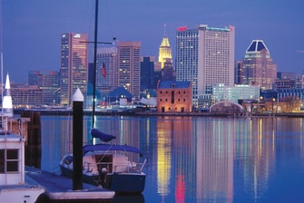 Baltimore Downtown Inner Harbor