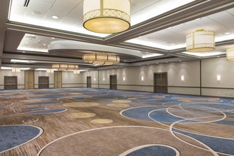 Ballroom in Baltimore Inner Harbor