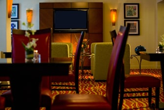Inner Harbor hotel concierge lounge