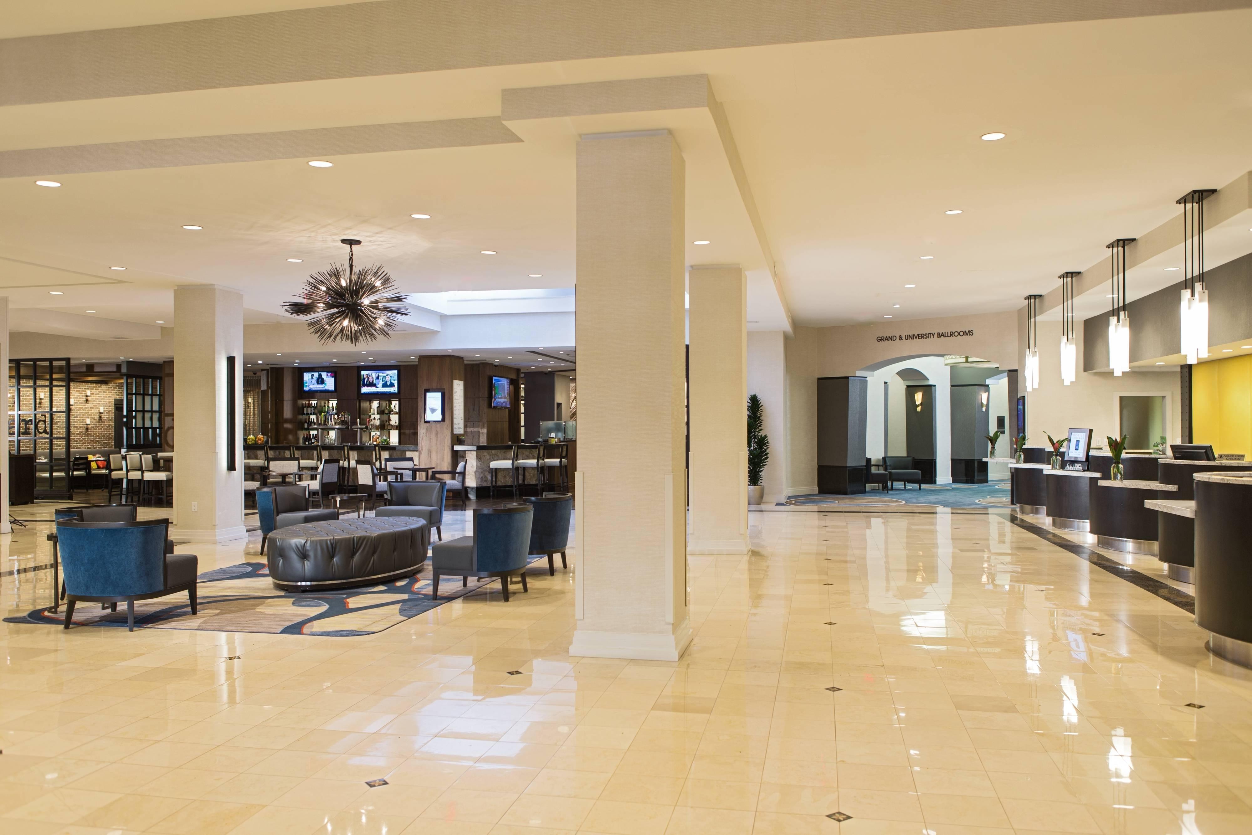 Baltimore Inner Harbor hotel lobby