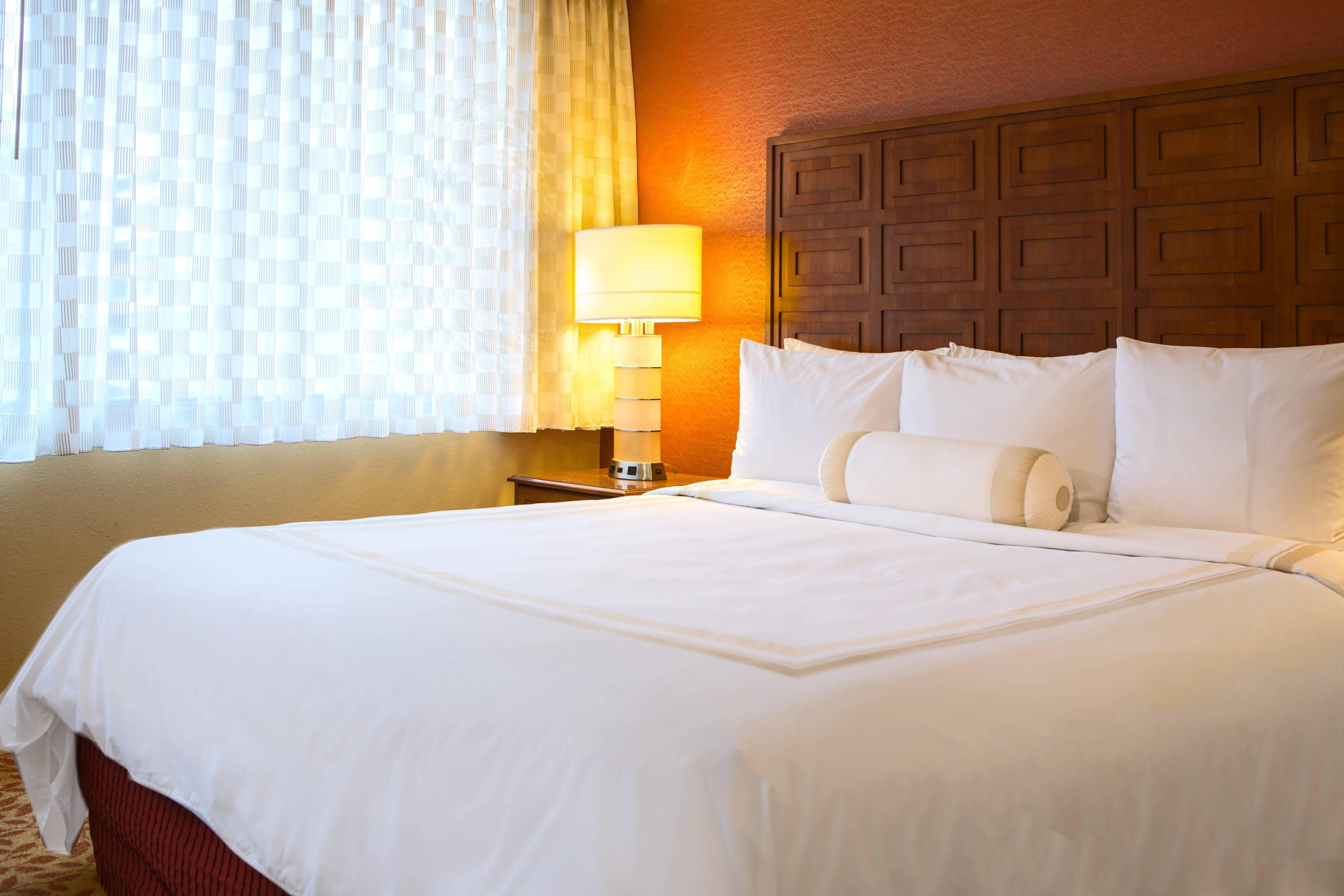 Inner Harbor hotel king room