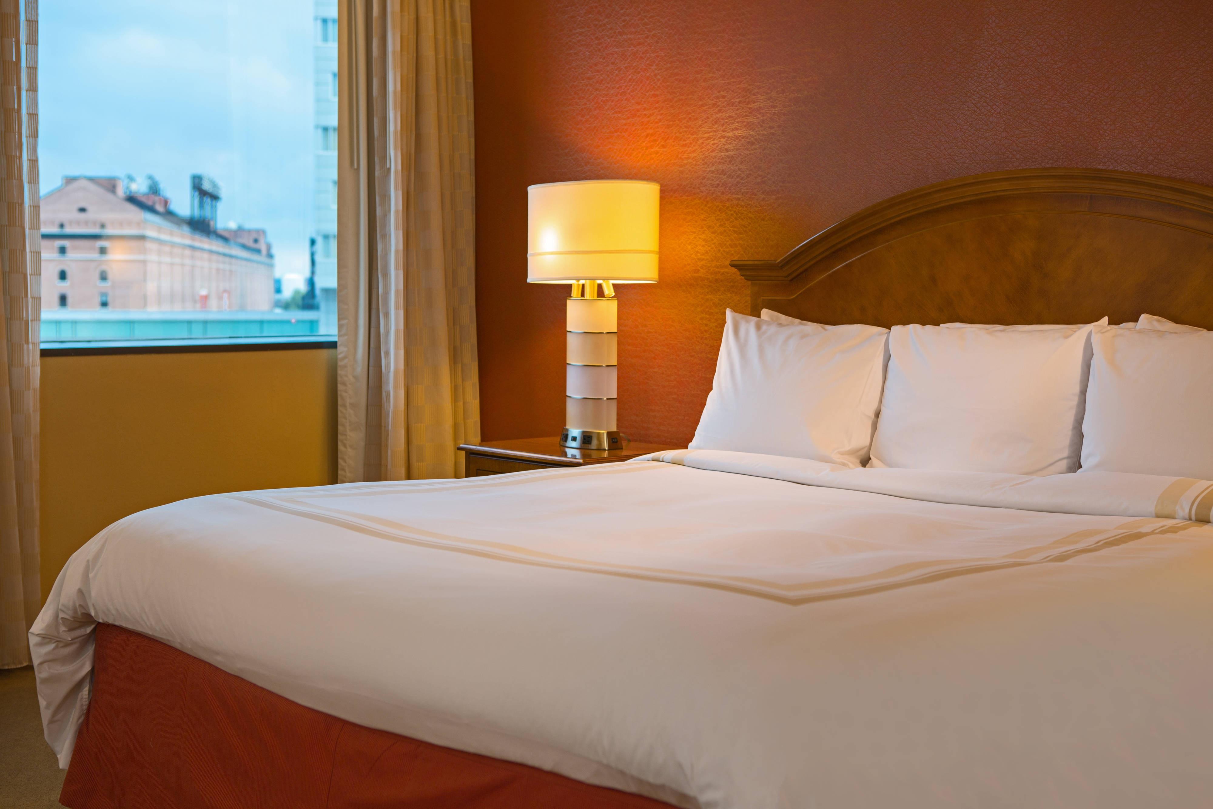 Baltimore hotel larger king room