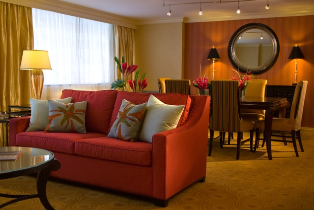Presidential suite in Baltimore, MD