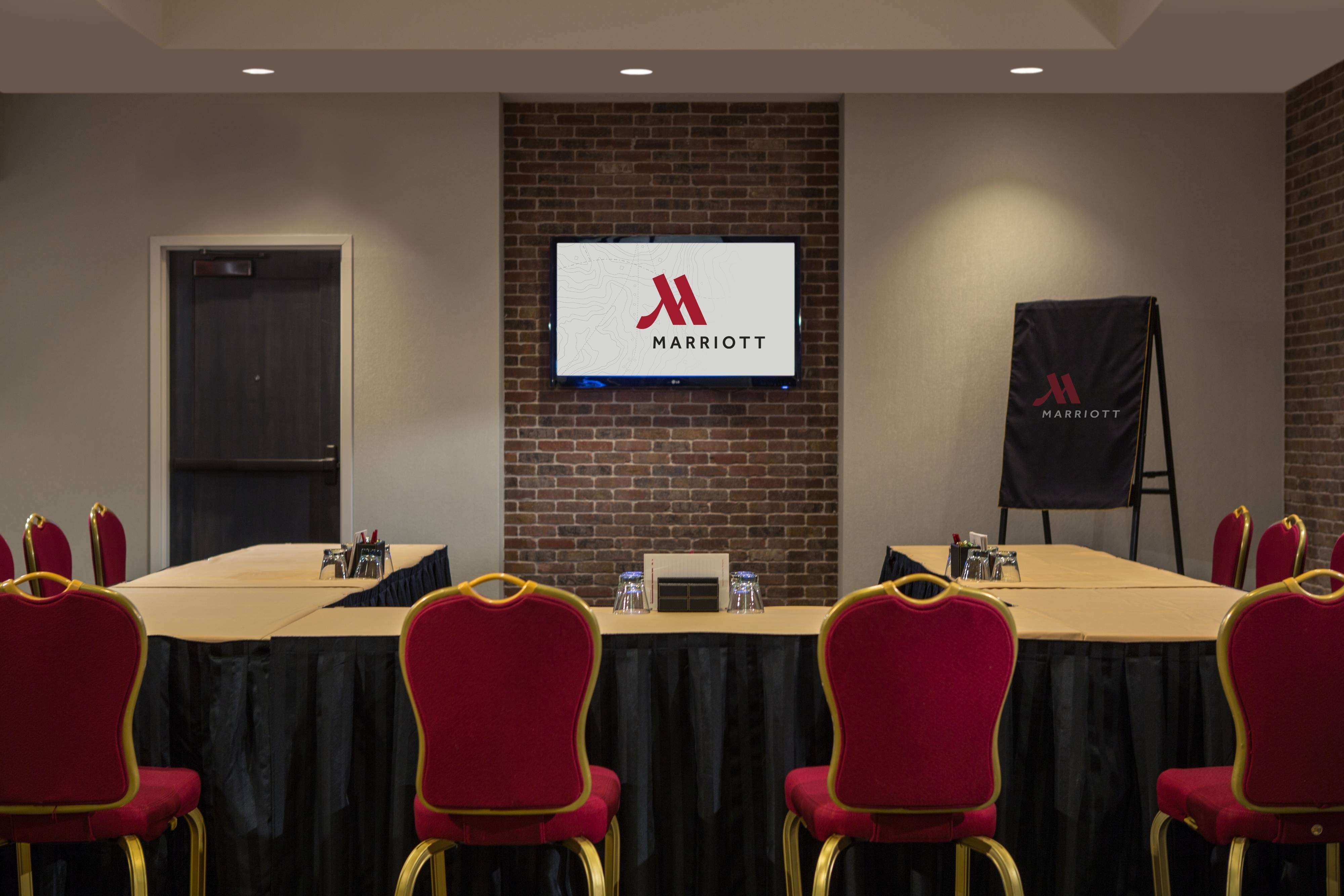 Baltimore Inner Harbor meeting room