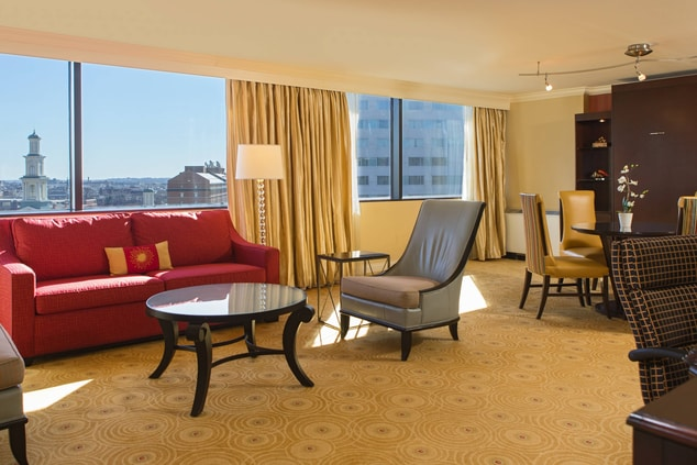 Hospitality Suite in Baltimore hotel