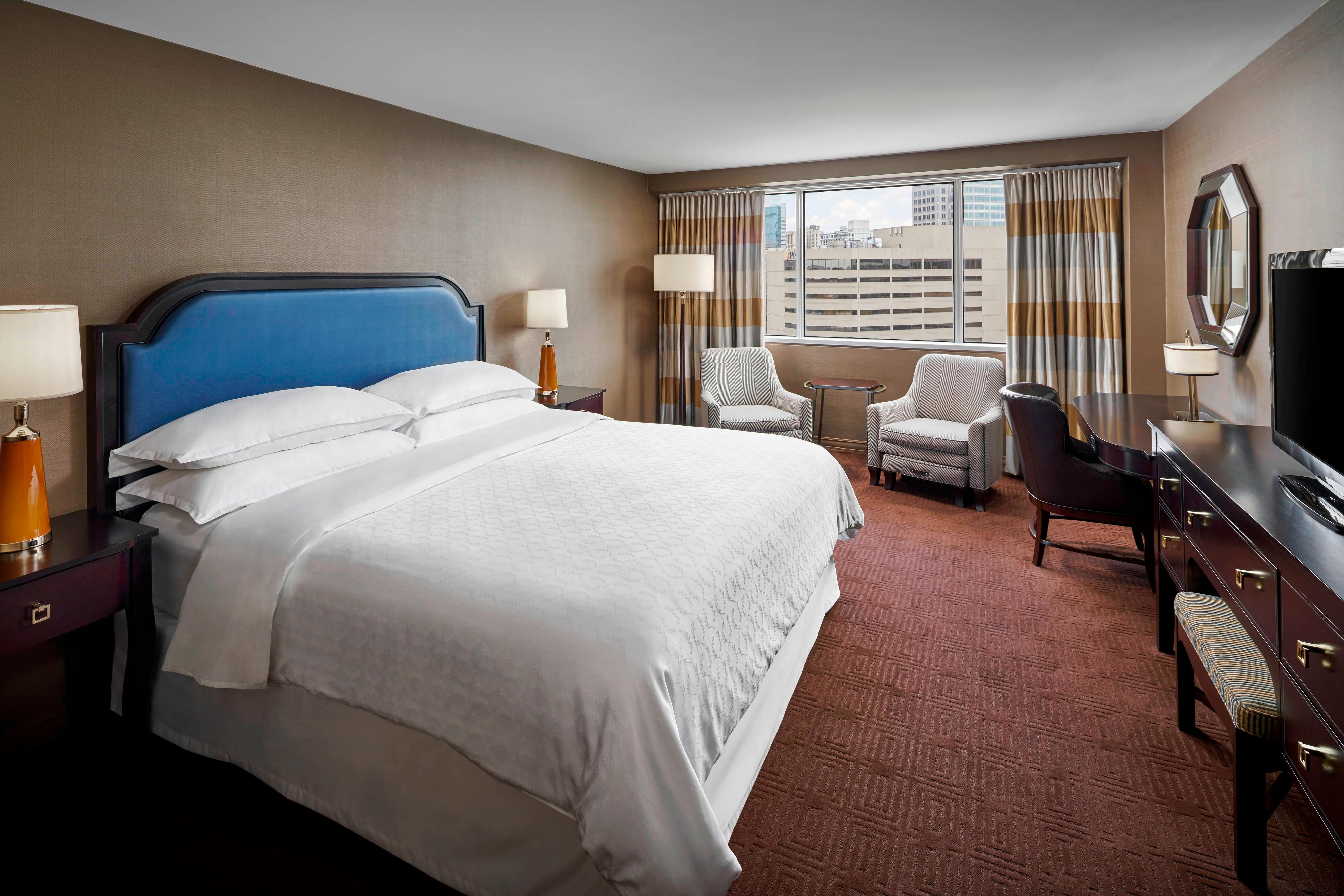King City View Deluxe Guest Room