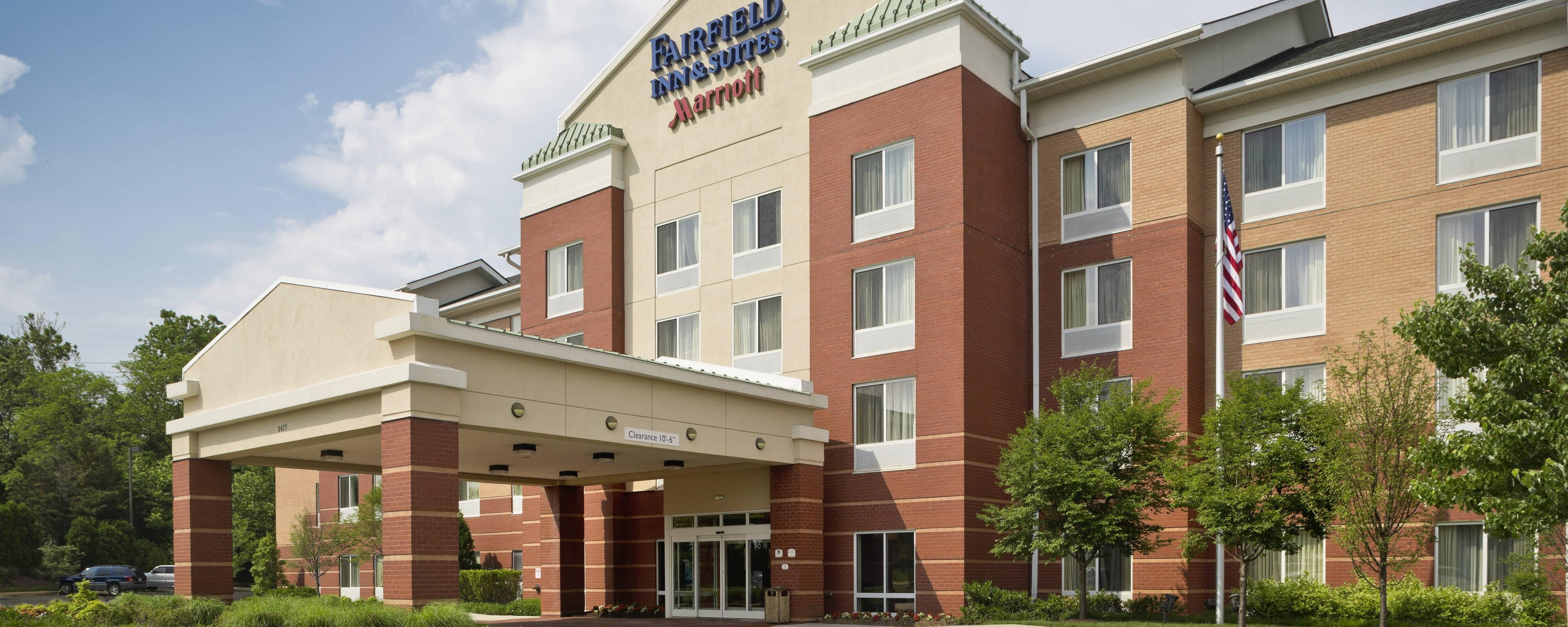 Außenansicht des Fairfield Inn & Suites White Marsh