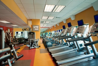 Downtown Baltimore hotel fitness center