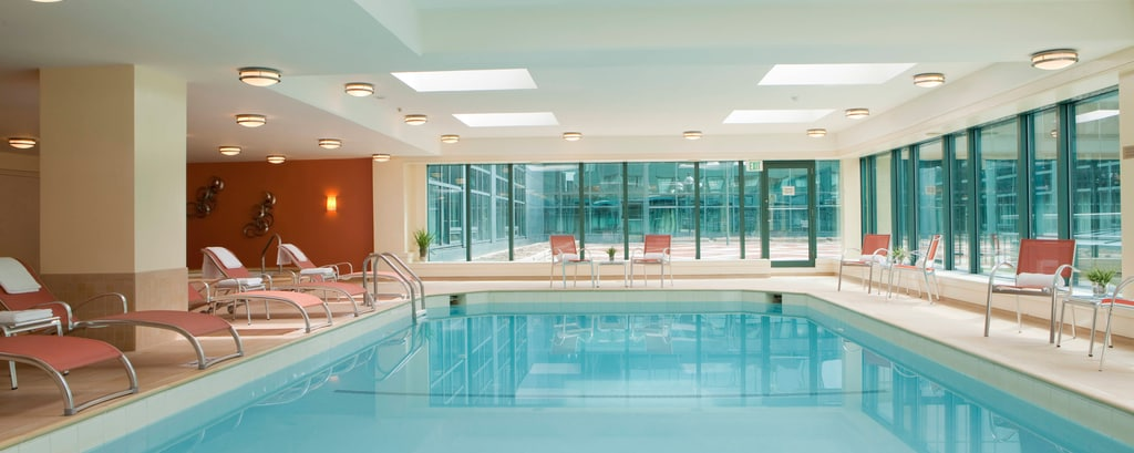 Downtown Baltimore hotel indoor pool