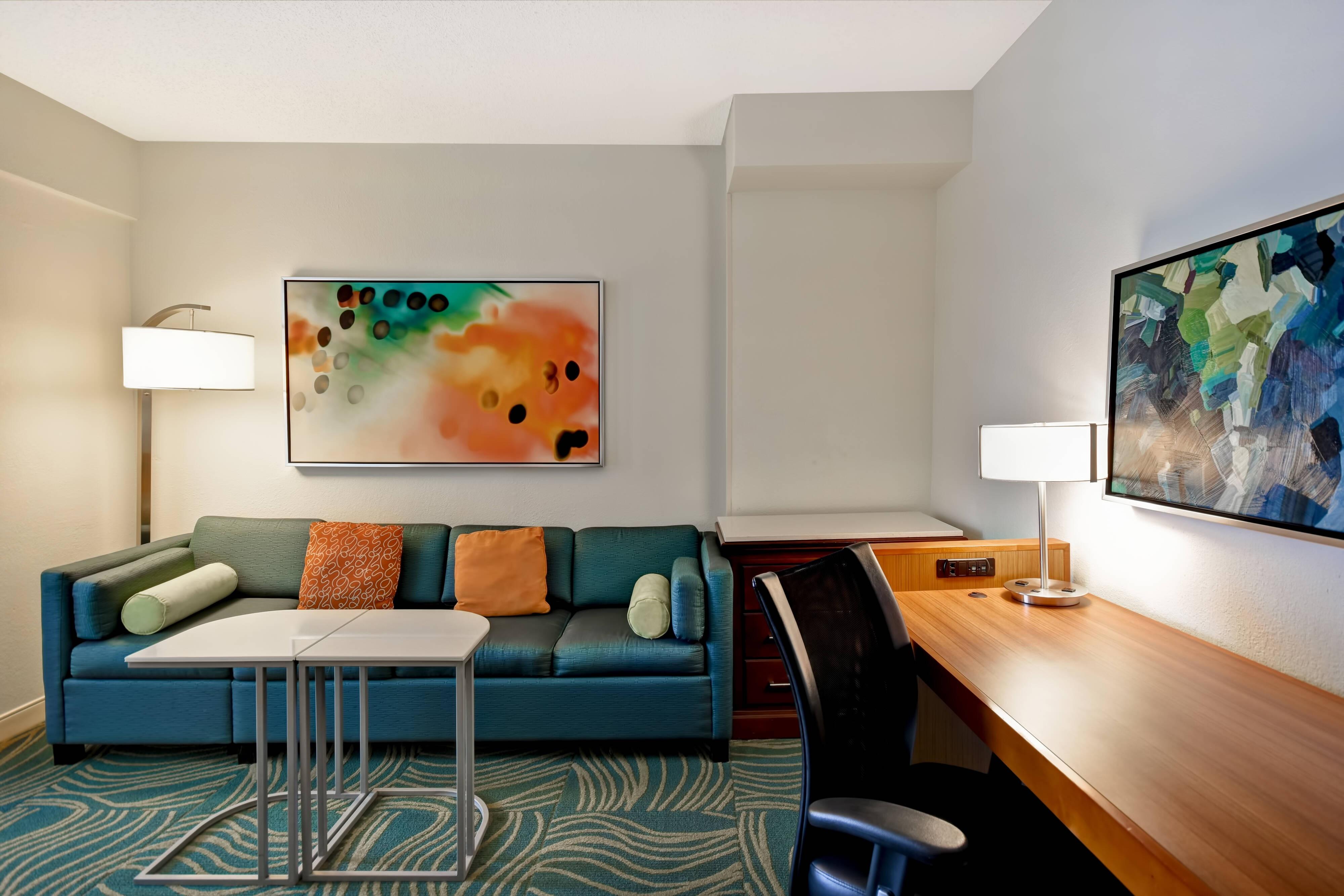 Suite– Wohnbereich