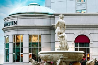 Water Fountain at Park Place