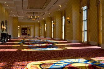 Baltimore hotel ballroom foyer