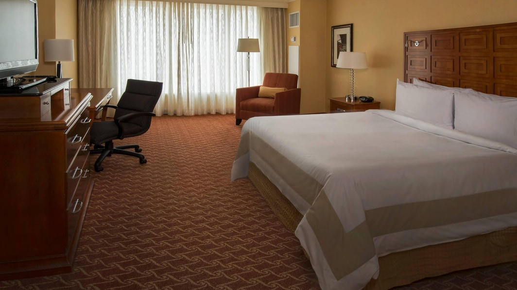 Baltimore Inner Harbor king room