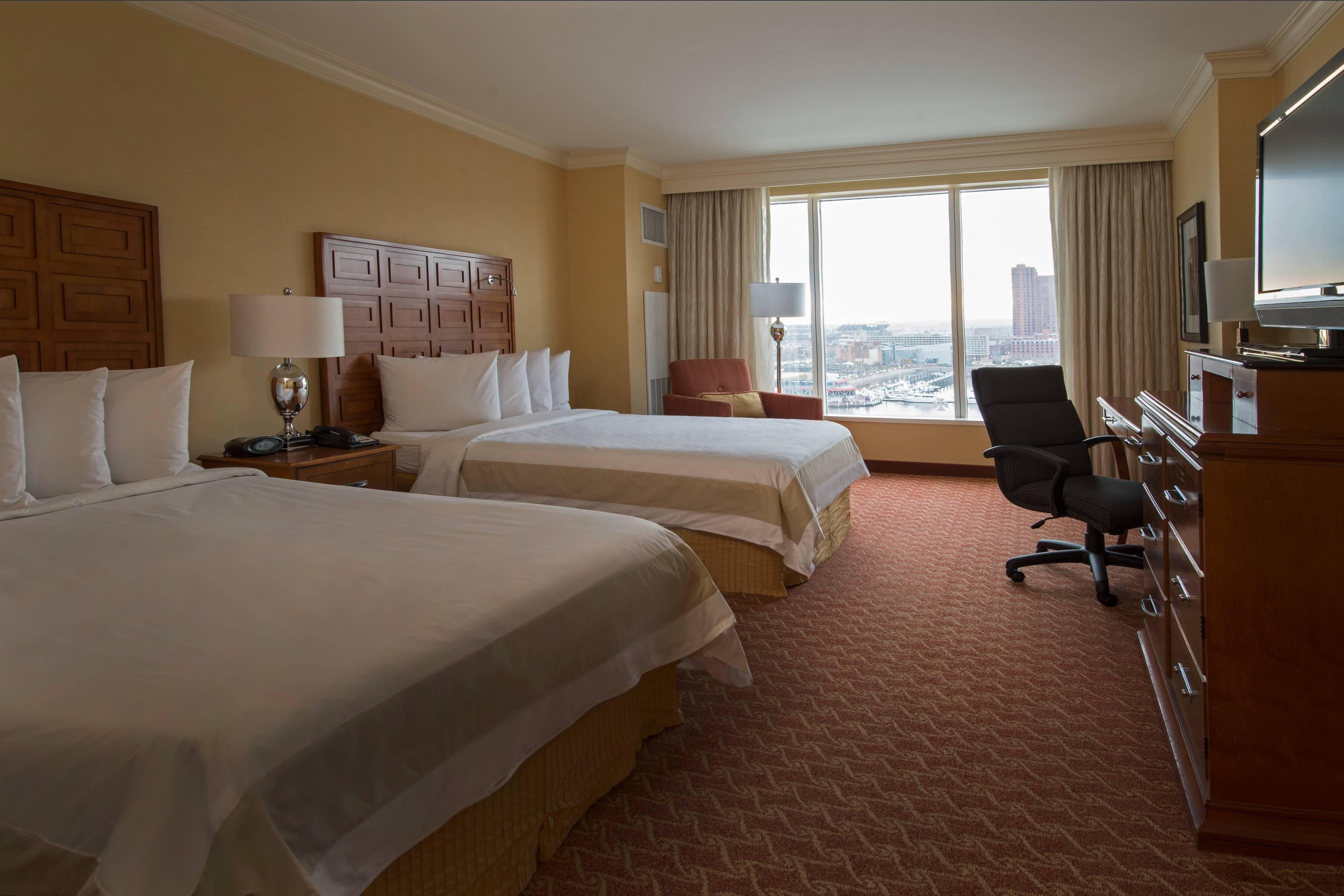 Downtown Baltimore double room