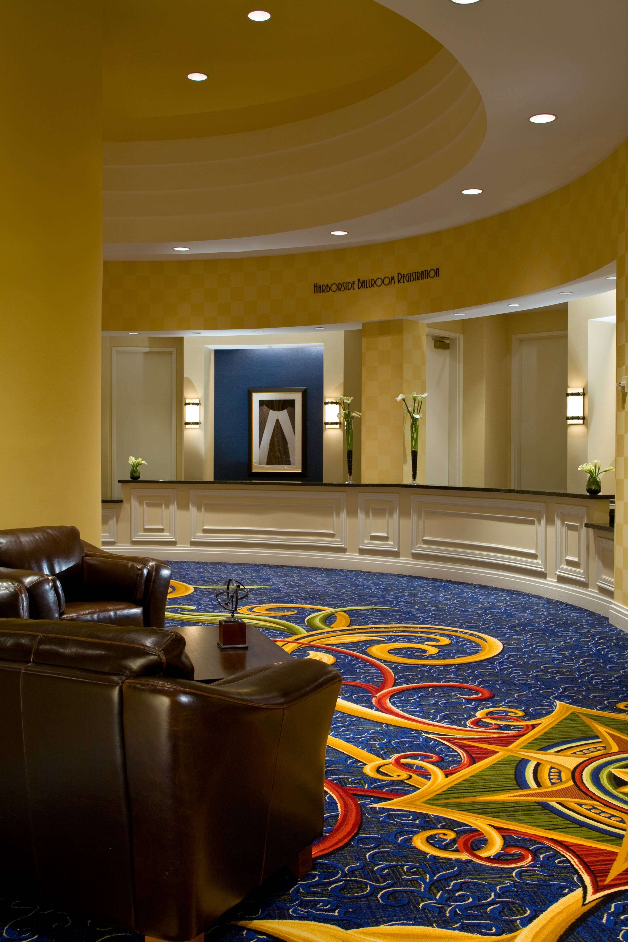 Baltimore hotel foyer event space