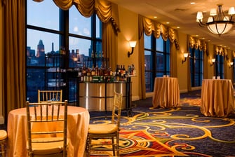 Baltimore hotel ballroom reception space