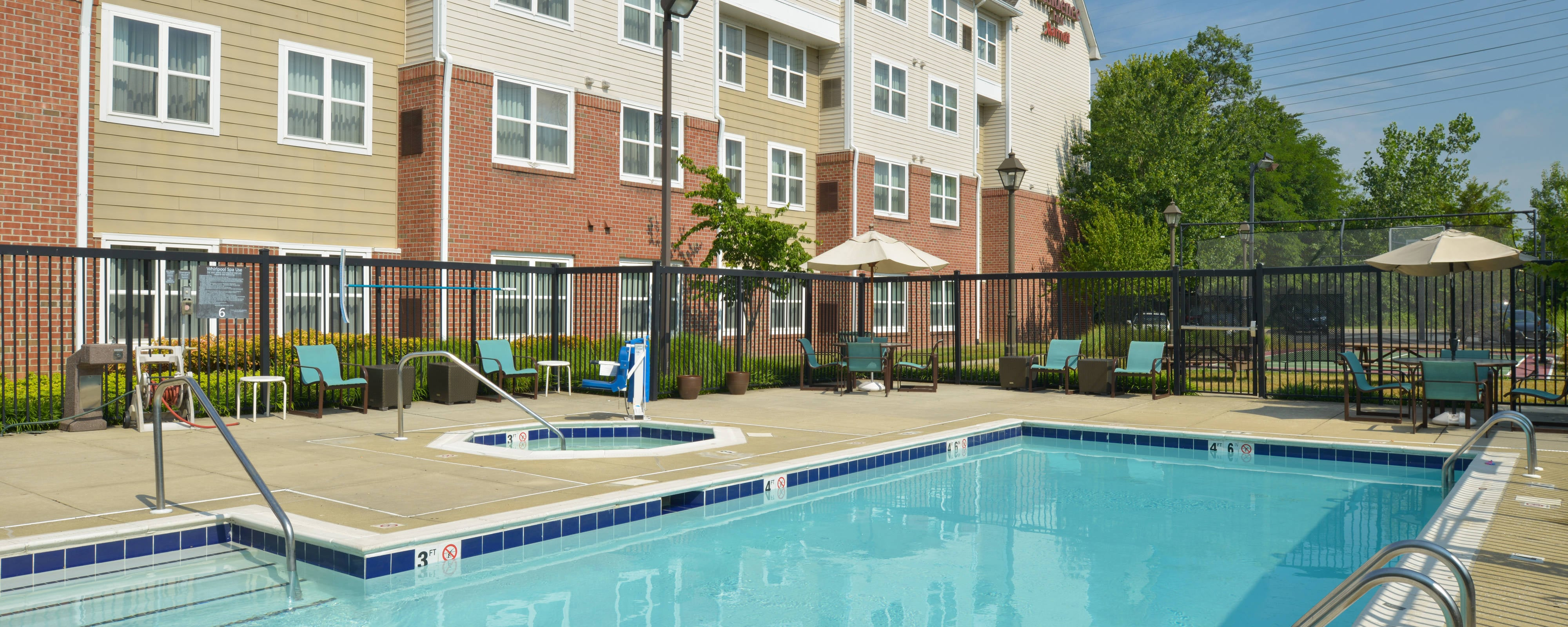 White Marsh Hotels With Pool And Gym Residence Inn Baltimore White Marsh
