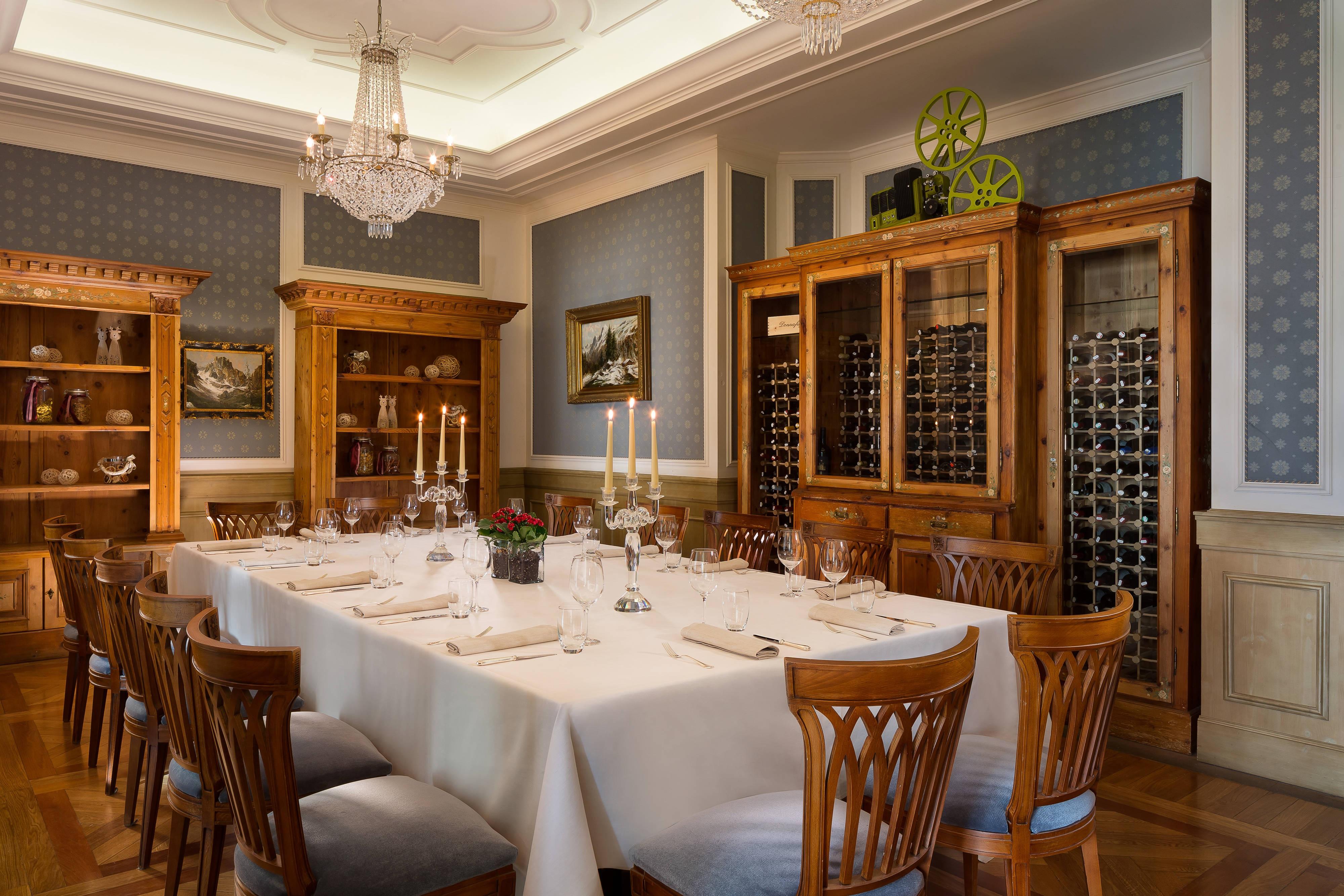Tavolo privato dello chef
