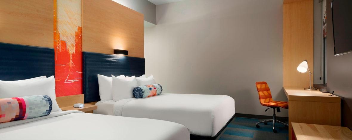 Standard mit zwei Queensize-Betten