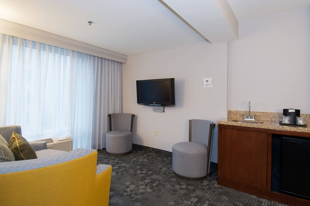 King End Suite – Living Area