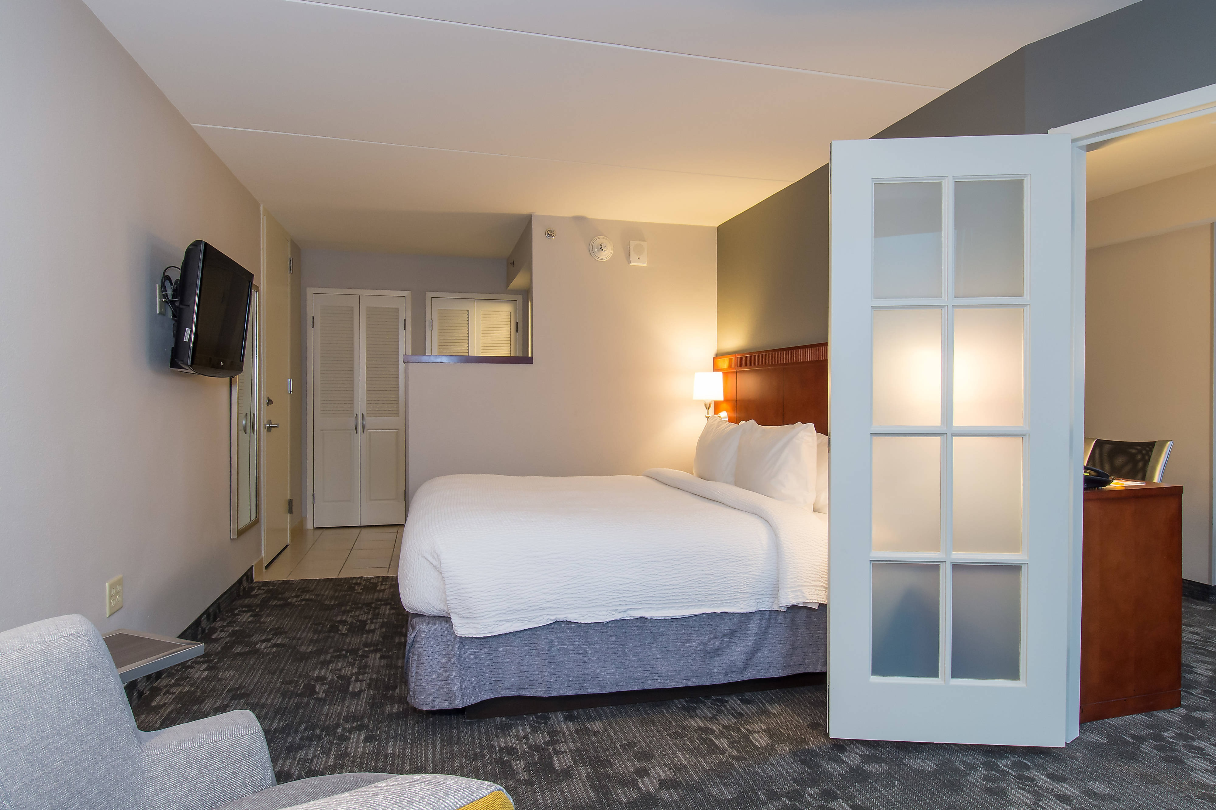 King End Suite – Bedroom Sleeping Area
