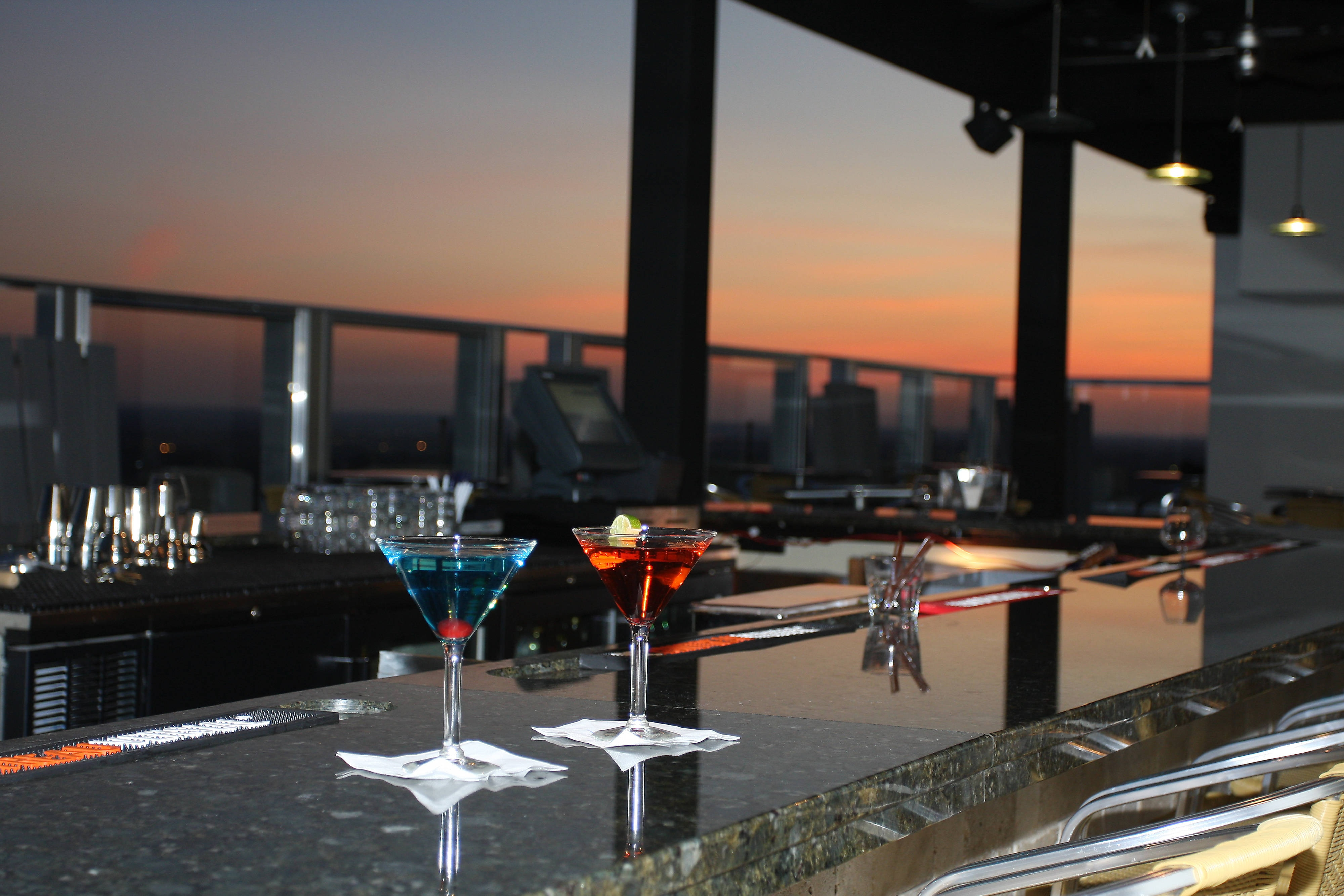 Rooftop Martinis