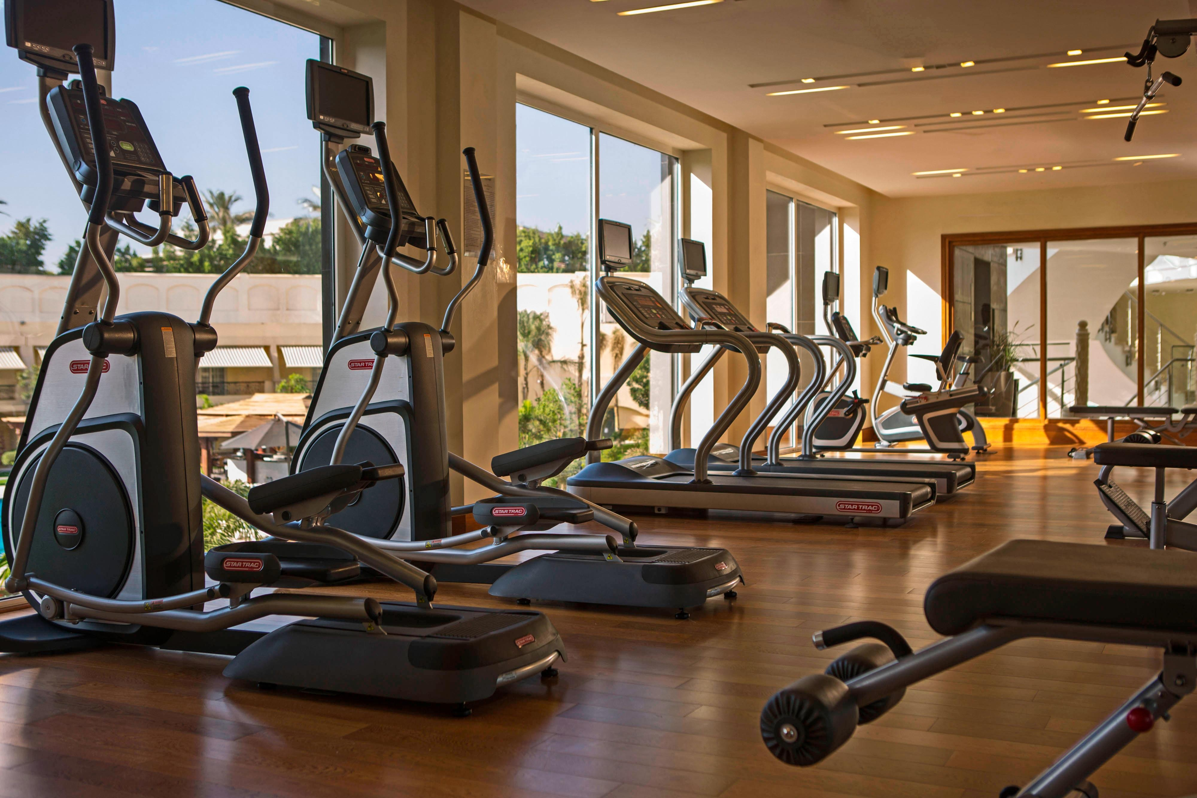 Hotel gym in Cairo Heliopolis