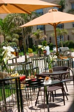 Heliopolis outdoor meeting space