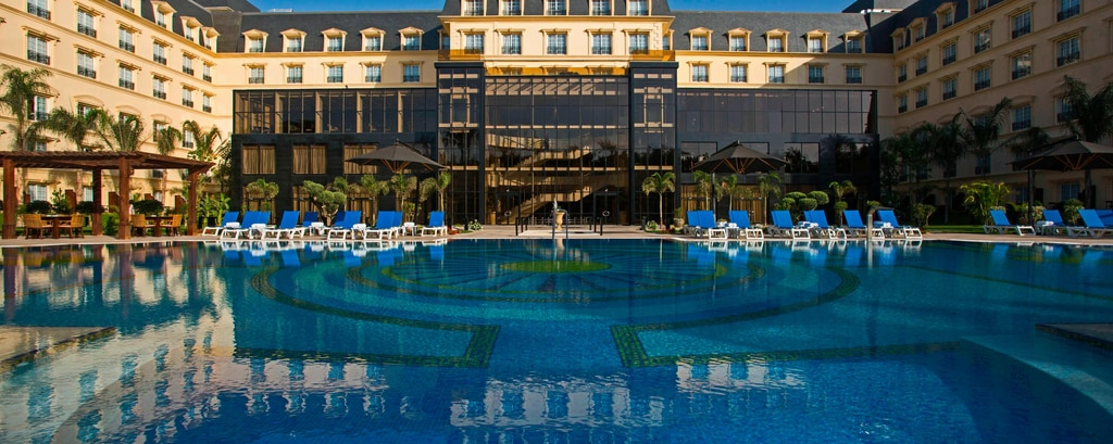 Heliopolis Cairo hotel outdoor pool