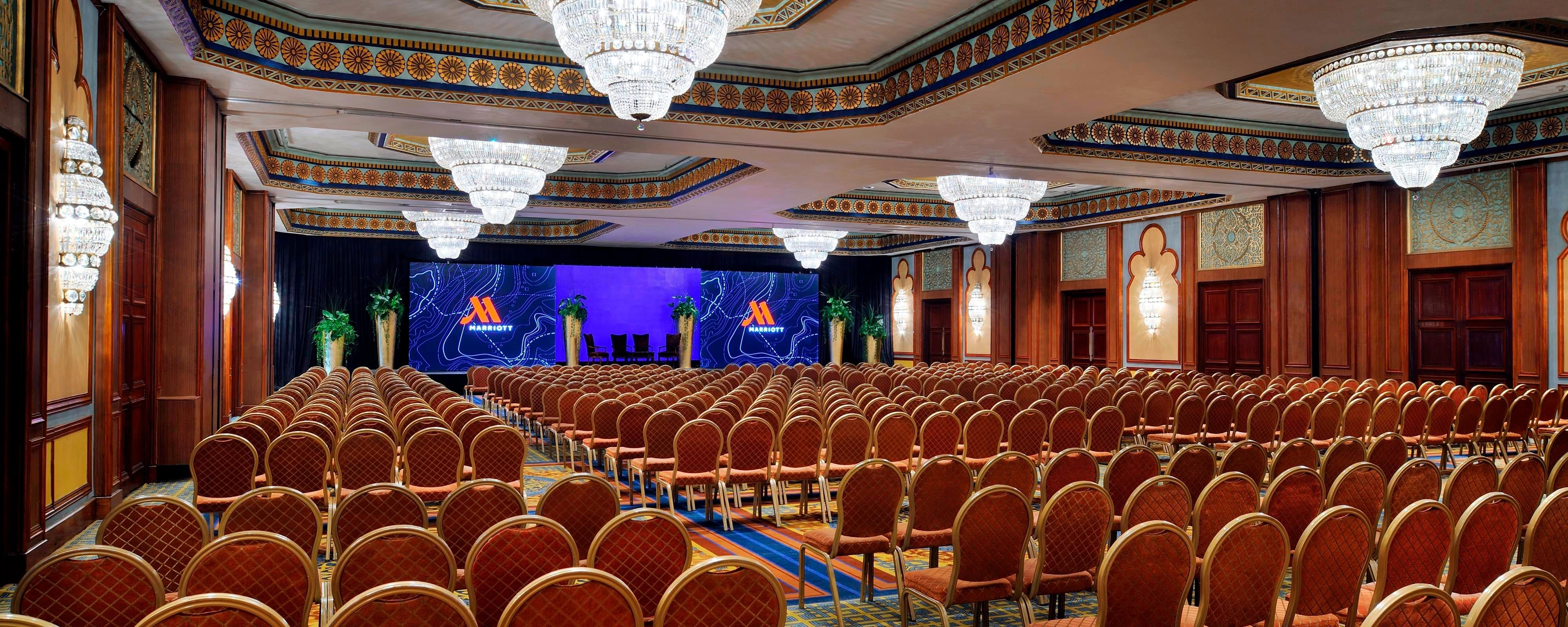 Aida Theater Cairo Marriott Hotel