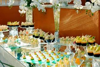 Dessert buffet in Cairo