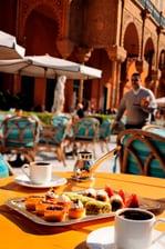 تناول الطعام الرائع في القاهرة
