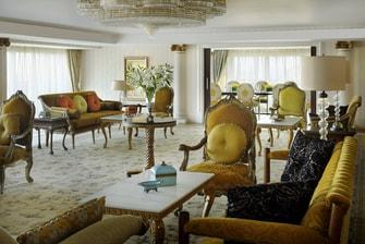 أجنحة فندقية ملكية في القاهرة