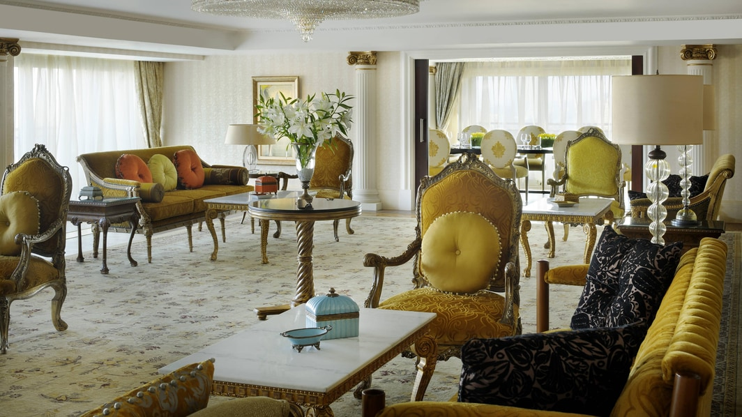 Royal hotel suites in Cairo