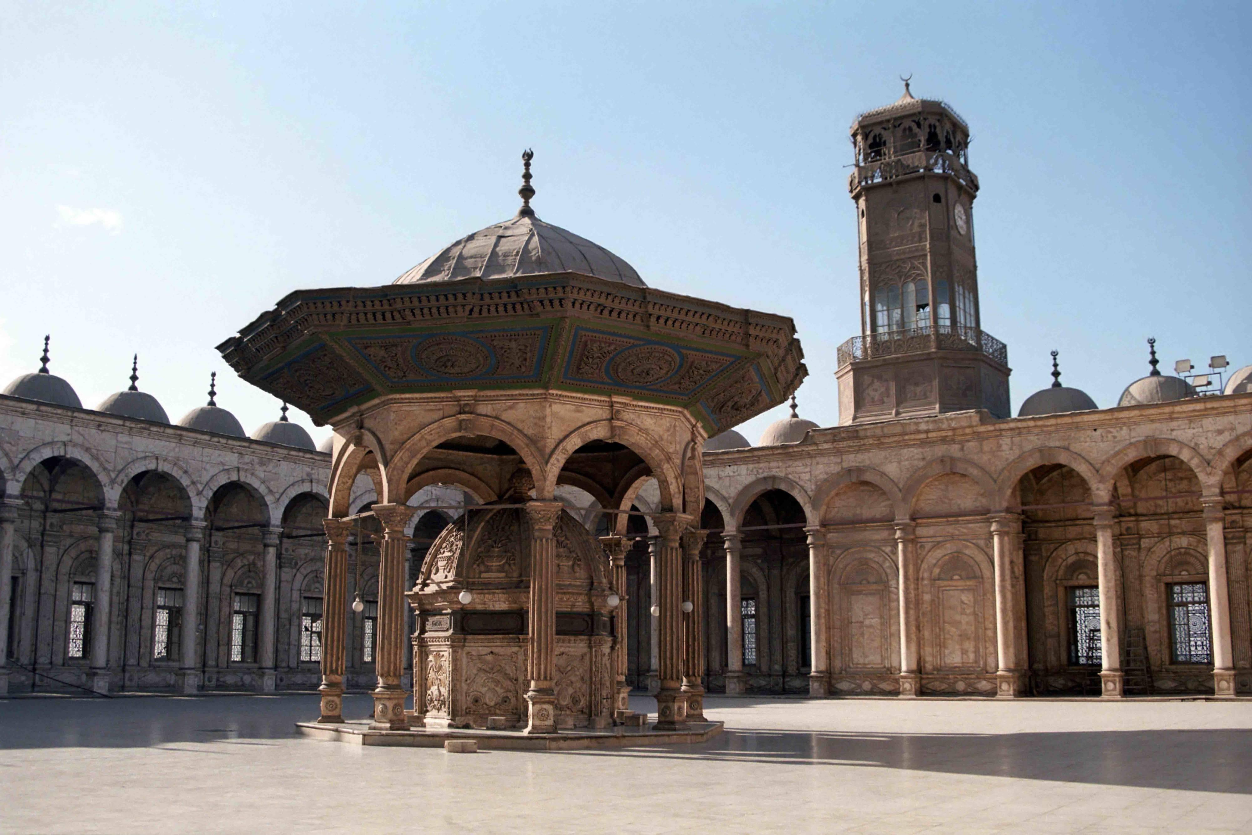 Mohamed Ali Mosque Cairo Egypt