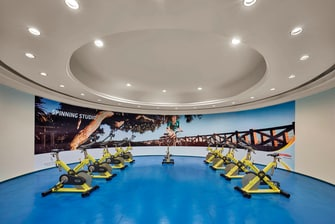 Fitness center in Cairo hotel