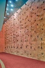 Fitness center climbing wall Cairo