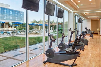Heliopolis Cairo hotel fitness center