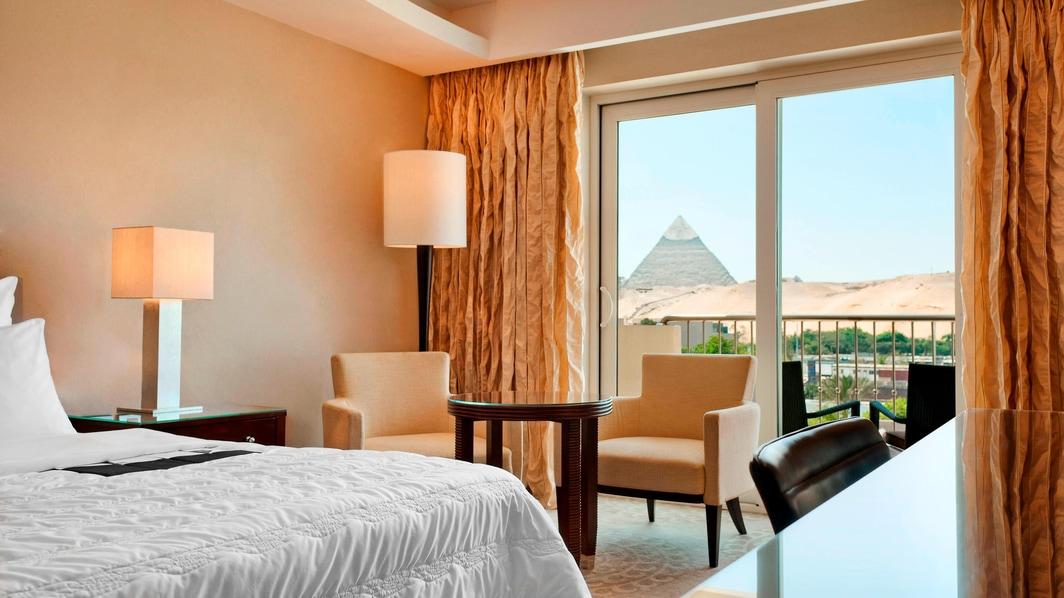 Chambre Premium Deluxe, vue sur les pyramides