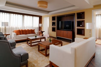 Ambassador Suite - Living Area
