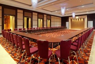 Ivory Ballroom U-Shape Setup