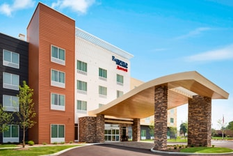 Hotel in Akron Ohio Exterior