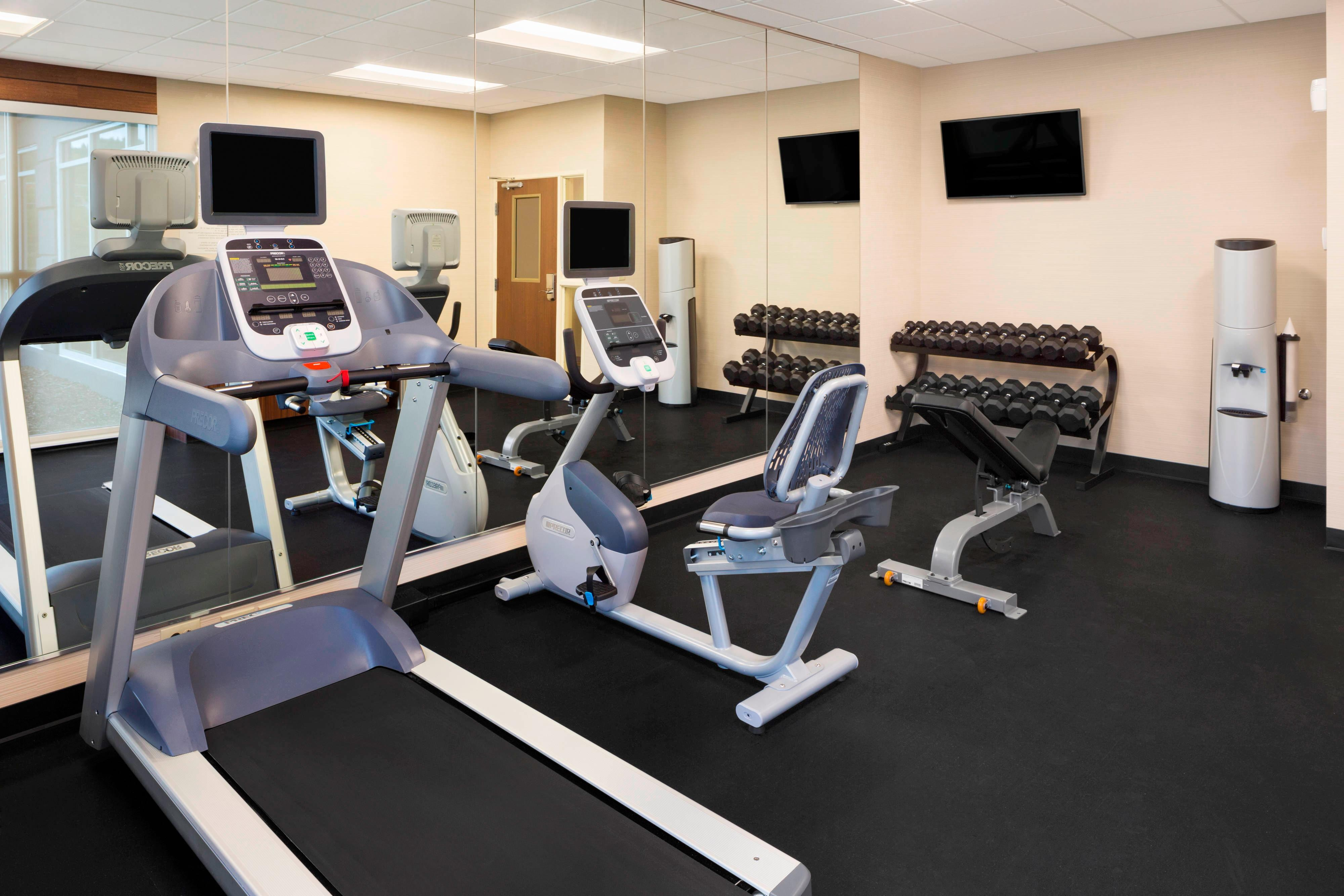 Akron Hotel Fitness Center