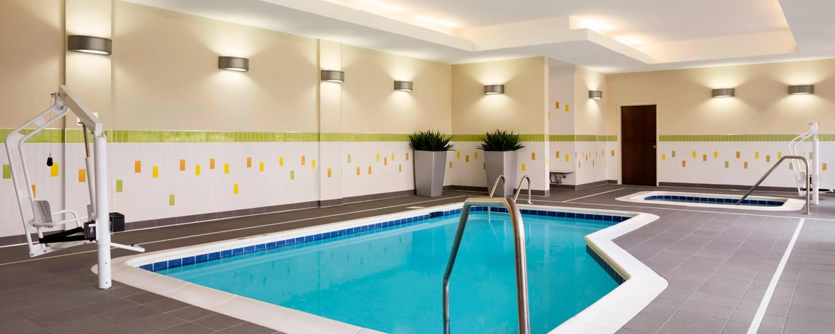 Indoor Pool Akron Marriott Hotel
